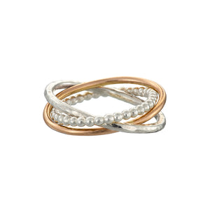 The Cúrsa an tSaoil Circles of Life tactile ring.