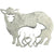 Mother & Lamb Brooch beautifully handcrafted from Sterling Silver in Cavan, Ireland.