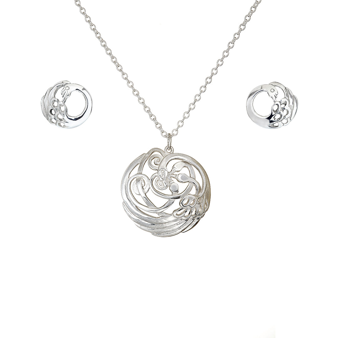 Sanctuary Swan Jewellery Set