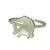 Sideways Irish Sheep Ring handcrafted from sterling Silver and full of personality!