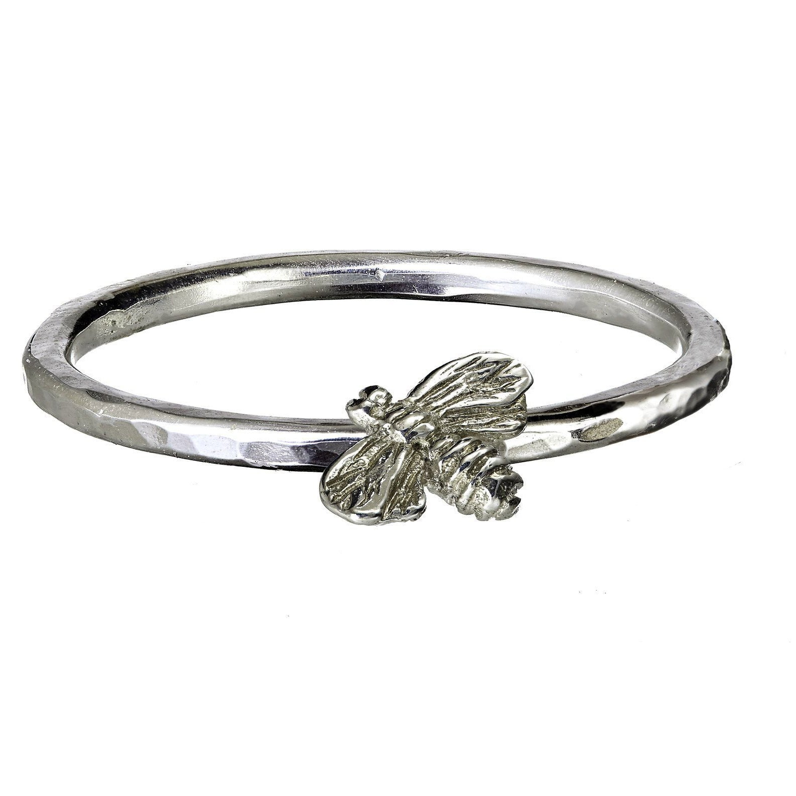 Stacking Rings with Silver Celtic Symbols
