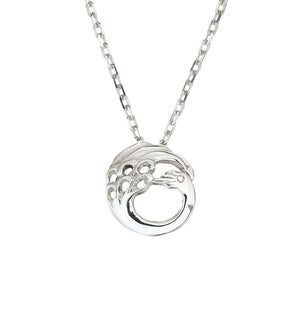 Dainty Children of Lir Sterling Silver Swan Pendant jewellery.