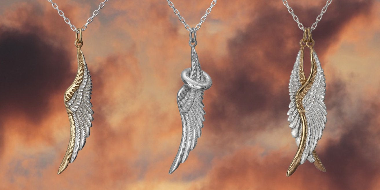 "Give a gift from the Angels this Christmas with jewellery from Elena's ""My Angel"" Collection"
