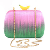 ISLA SMALL BANANA CLUTCH