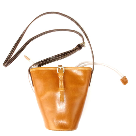 V-shape Leather Bag