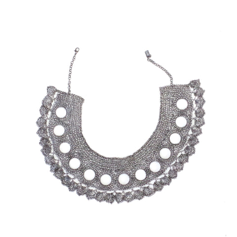 Crochet Necklace-Collar