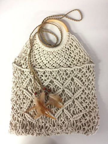 Macrame Bag Off-White