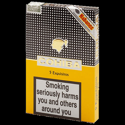 Cohiba Exquisitos cigar - pack of 5