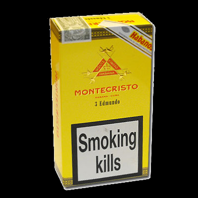 Montecristo Edmundo cigars - pack of 3