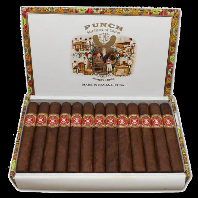Punch Petit Coronas cigars - box of 25