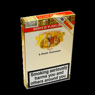 Romeo y Julieta Petit Coronas cigar - pack of 5