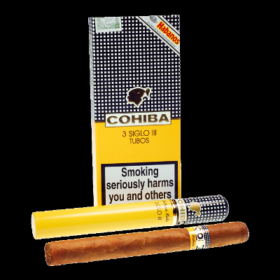 Cohiba Siglo III tubos - pack of 3