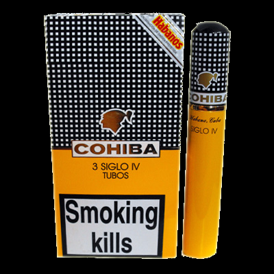 Cohiba Siglo IV tubos - pack of 3