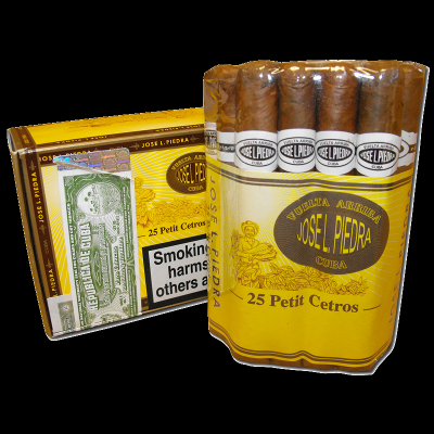 Jose L Piedra Petit Cetros cigars - bundle of 25