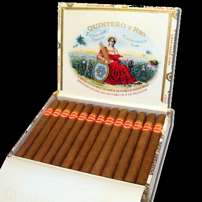 Quintero Panetelas cigars - box of 25