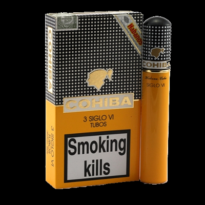 Cohiba Siglo VI tubos - pack of 3
