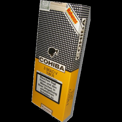 Cohiba Siglo V tubos - pack of 3