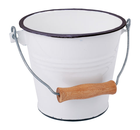 Redecker Enamel Bucket