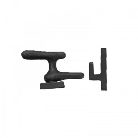 Black Cast Iron Fastener