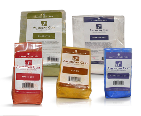 American Clay Colour Pack