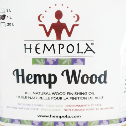 Hemp Oil Wood Finish
