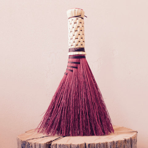 Straw Whisk Broom
