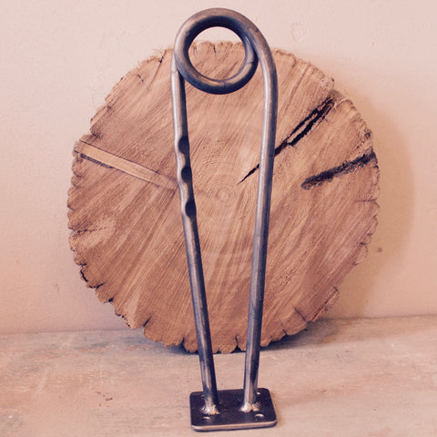 Hand Forged Hairpin Table Legs