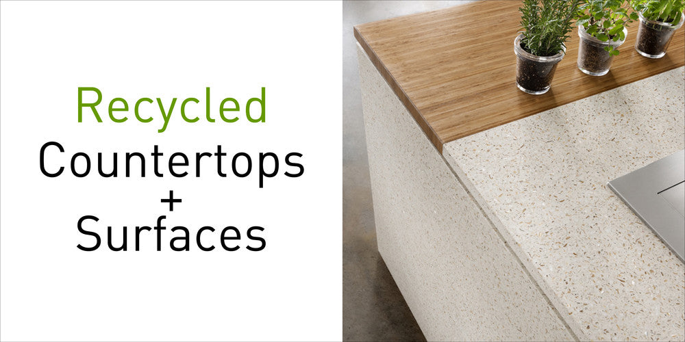 Recycled Countertops + Surfaces