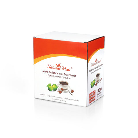 Natural Mate Monk Fruit Sweetener Packets