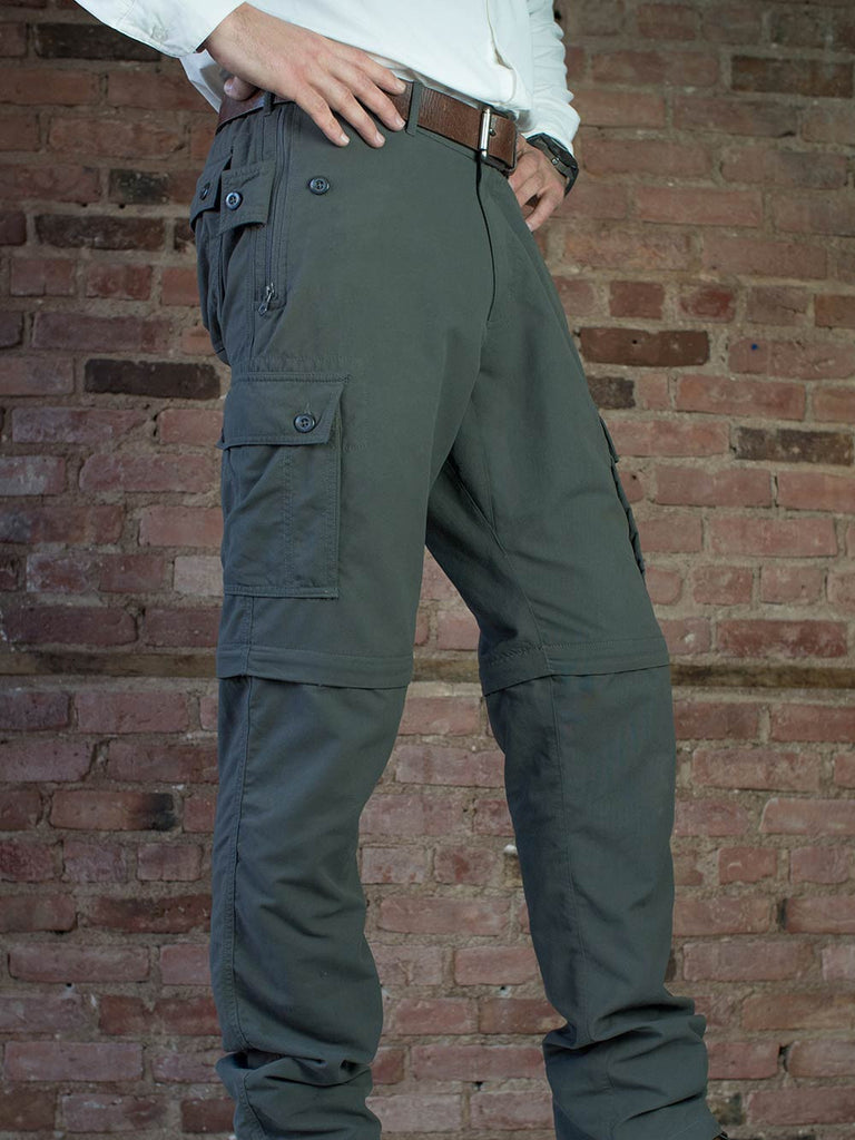 pickpocket proof® convertible travel pants  clothing arts