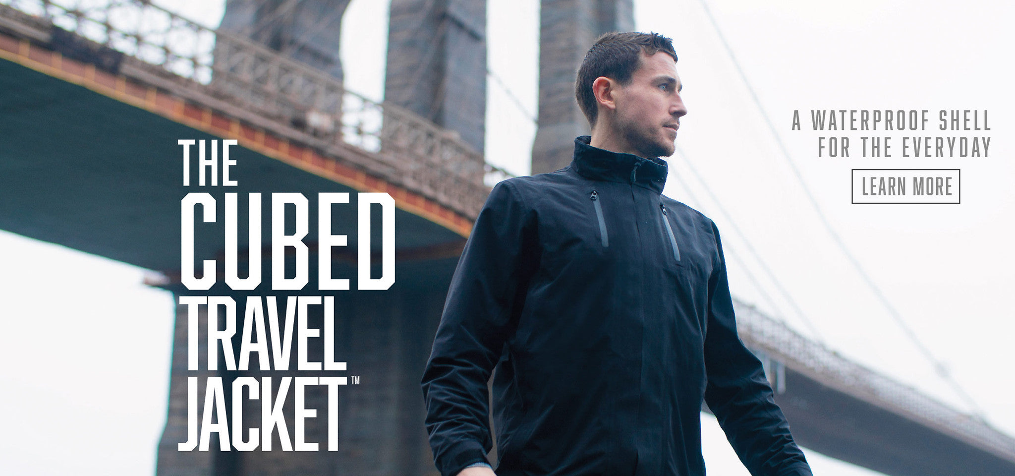 The Cubed Travel Jacket