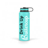 Drink Up Buttercup Stainless Steel 40 oz Water Bottle