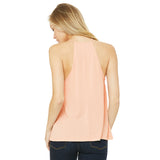 High Neck Flowy Tank Top