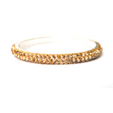Crystal Bangle Bracelet (Thin)