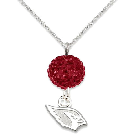 Arizona Cardinals Crystal Necklace