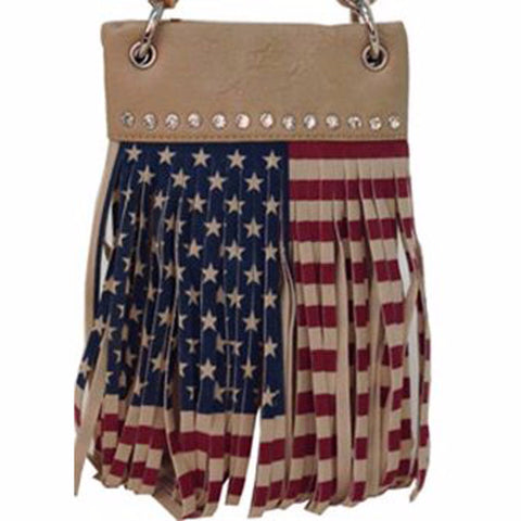 American Flag Crossbody