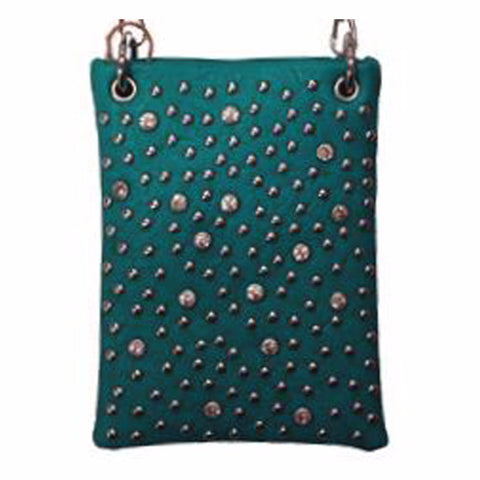 Crystal & Stud Crossbody
