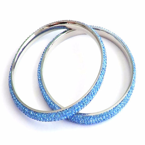 Swarovski Crystal Stainless Steel Bangle