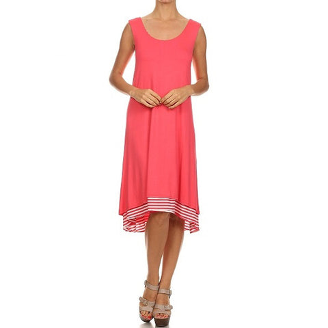 Hi Low Midi Tank Dress