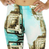 Venice Italy Blue Leggings