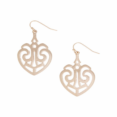 Heart Lace Earrings