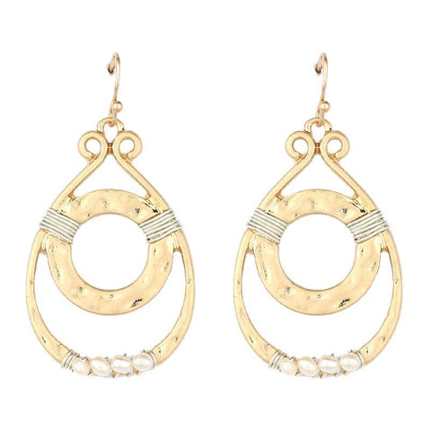 Teardrop Art Deco Earrings