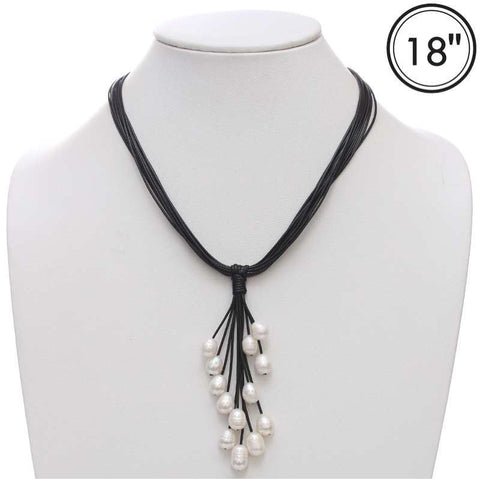 Tassel Freshwater Pearl Necklace