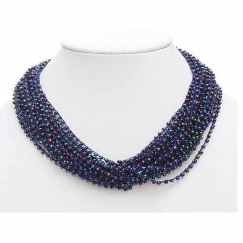Multi Seed Bead Necklace