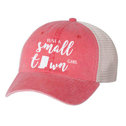 Just a Small Town Girl Indiana Vintage Unisex Hat