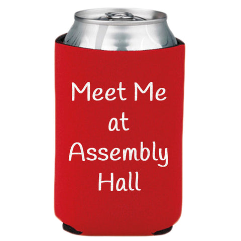 Meet Me At Assembly Hall Can Cooler