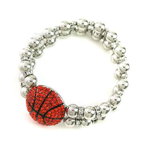 Basketball Stretch Bracelet