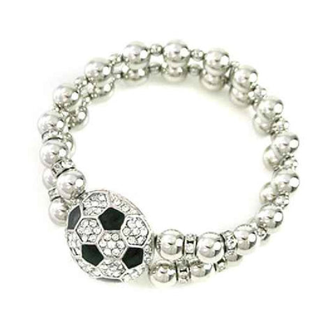 Soccer Stretch Bracelet