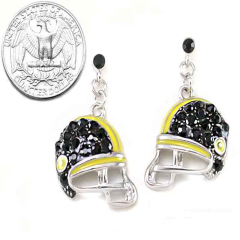 Football Helmet Earrings