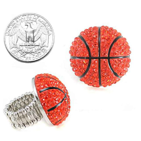 Basketball Stretch Ring